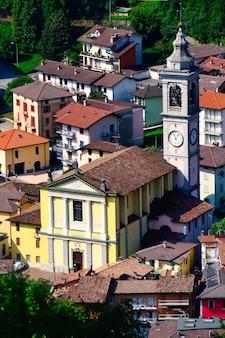 Kirche san pellegrino in terme, italien