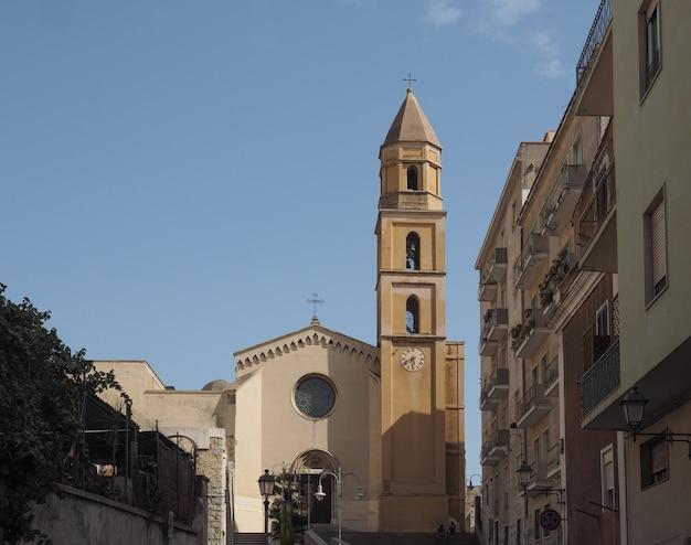 Kirche santa eulalia in cagliari