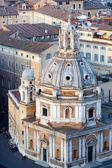 Kirche santa maria di loreto, rom, italien.