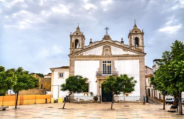 Kirche santa maria in lagos, portugal