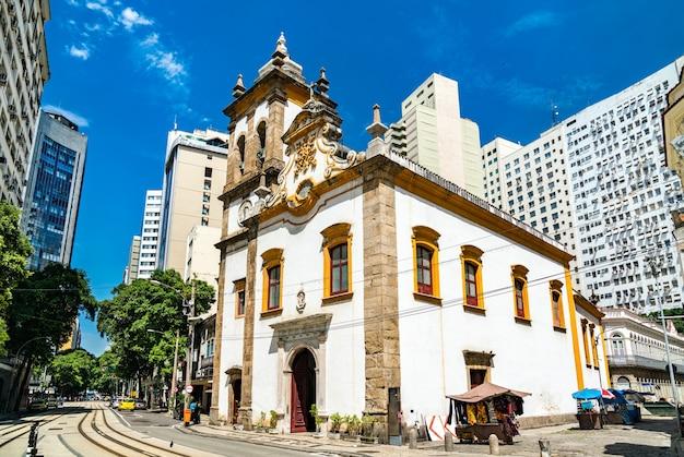 Kirche santa rita de cassia in rio de janeiro, brasilien