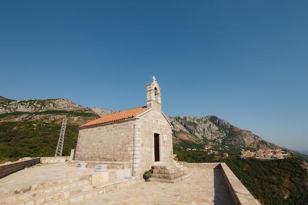 Kirche sveti savva nahe insel sveti stefan