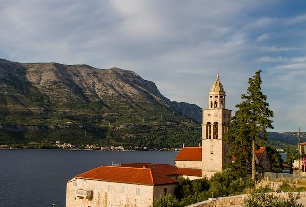 Kirche und kloster sveti nikola in korcula, kroatien