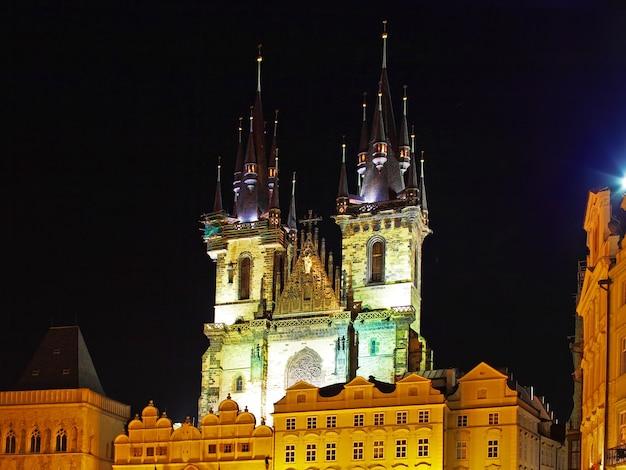 Kirche unserer lieben frau staromestska-platz prag tschechische republik