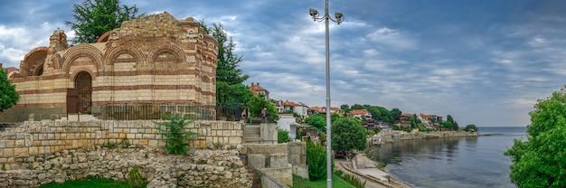 Kirche von johannes aliturgetos in nessebar, bulgarien