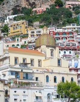 Kirche von santa maria assunta in positano