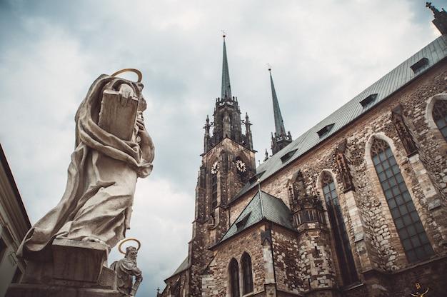 Kirche von st peter und von paul in brno czech republic
