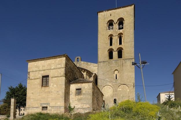 Kirche von virgen de la peña in sepulveda, provinz segovia, kastilien-leon, spanien
