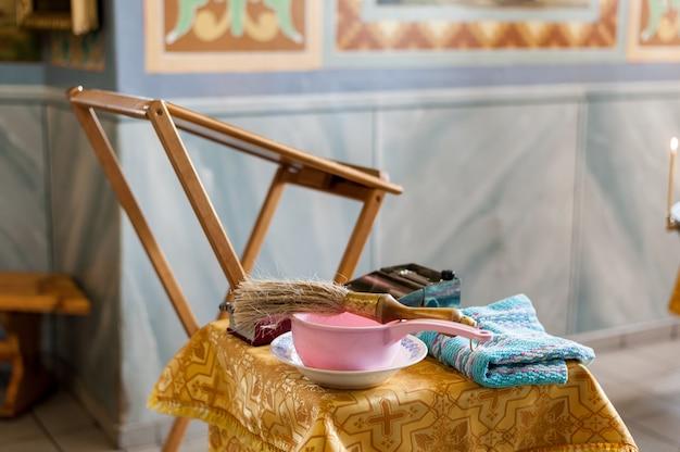 Kirchenzubehör zur taufe