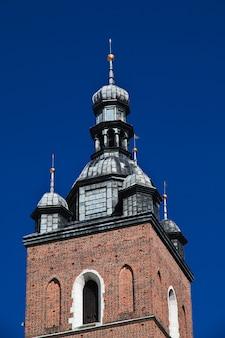 Kirchturm in krakau