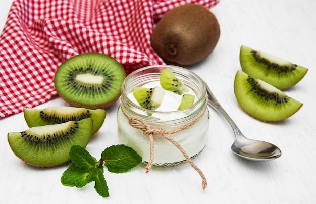 Kiwi-joghurt
