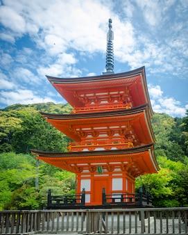 Kiyomizu dera - kyoto japan