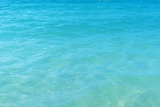 Klarer blauer meerhintergrund