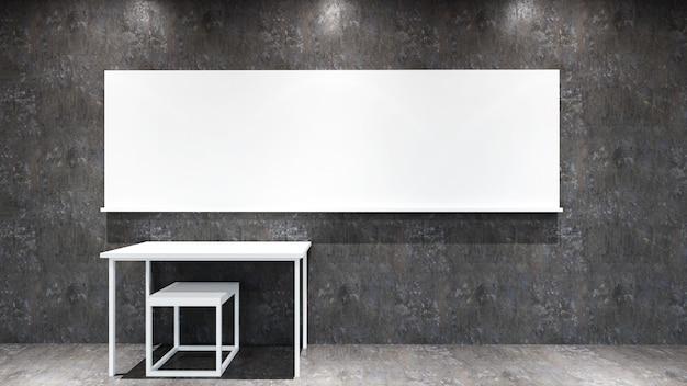 Klassenzimmer im loft-stil