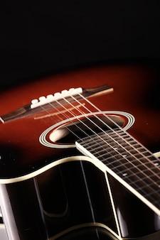 Klassische akustikgitarre
