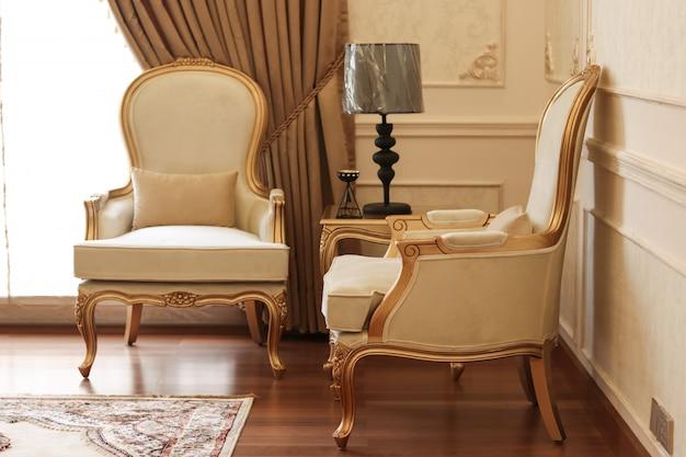 Klassische luxusstühle