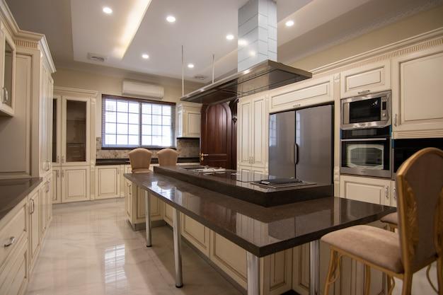 Klassische moderne küche