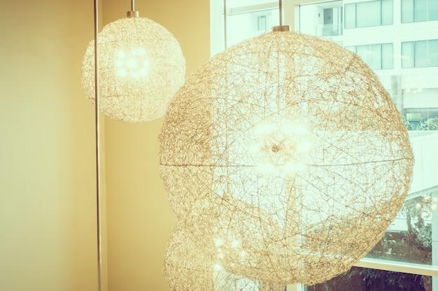Klassische wohnung dekoration lampe metall