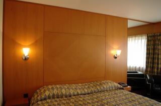Klassischen hotelzimmer, erholung