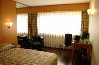Klassischen hotelzimmer
