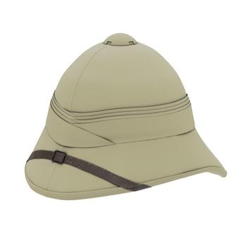 Klassischer cork pith helm
