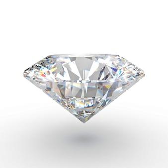 Klassischer diamant 3d