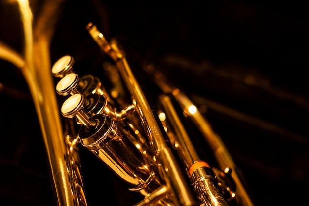 Klassisches musikalisches kornett