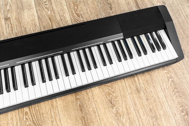 Klavier und klaviertastatur