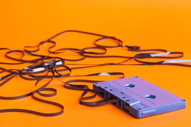 Klebeband aus der kassette