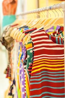 Kleidereinkauf