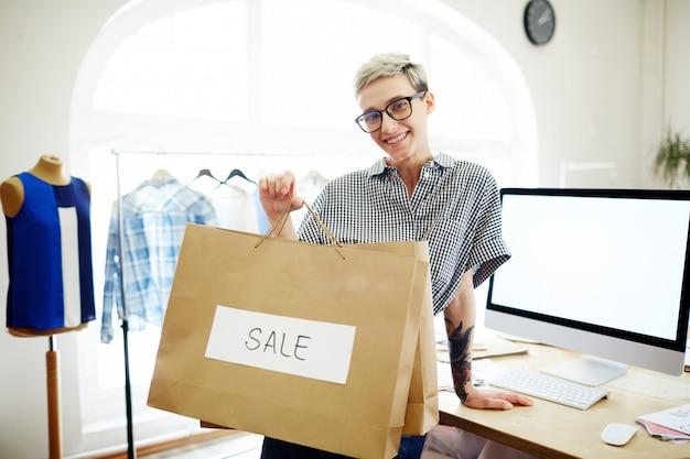 Kleiderverkauf