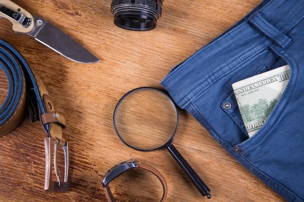 Kleidung und accessoires für männer