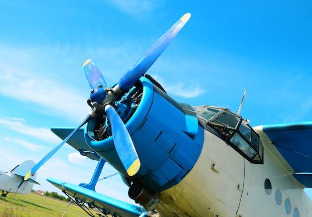 Kleiner flugzeugpropeller