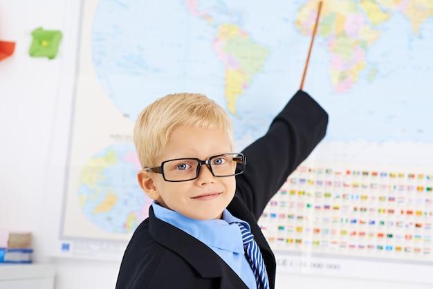 Kleiner lehrer der geographie