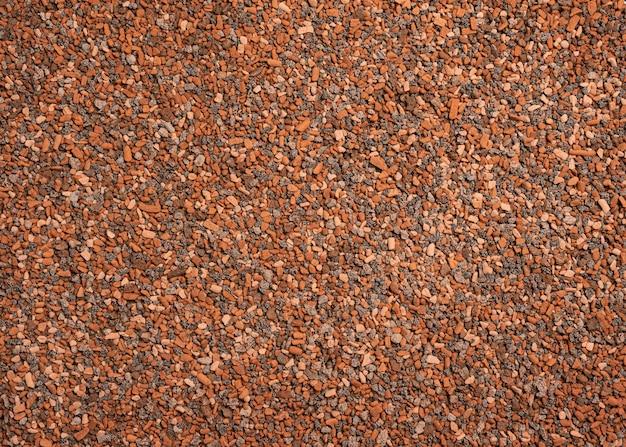Kleiner steine heterogener musterhintergrund