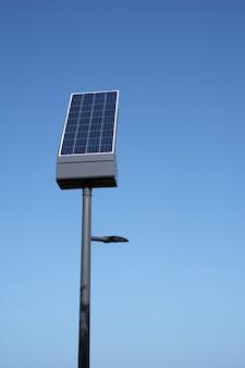 Kleines individuelles solarpanel und kopierraum