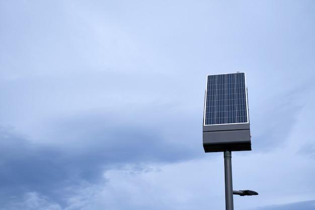 Kleines individuelles solarpanel