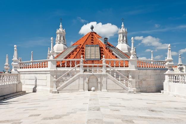 Kloster st. vincent vor den mauern, auf dem dach