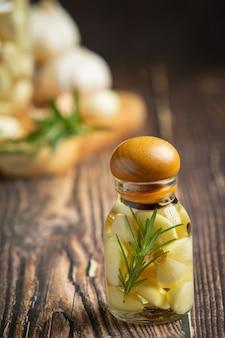 Knoblauchöl zur behandlung