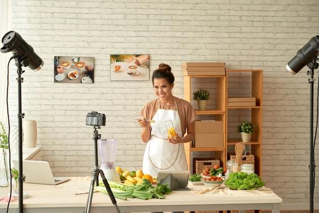 Kochen vor der kamera