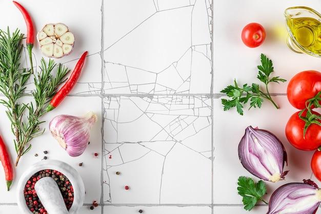 Kochfläche für lebensmittel