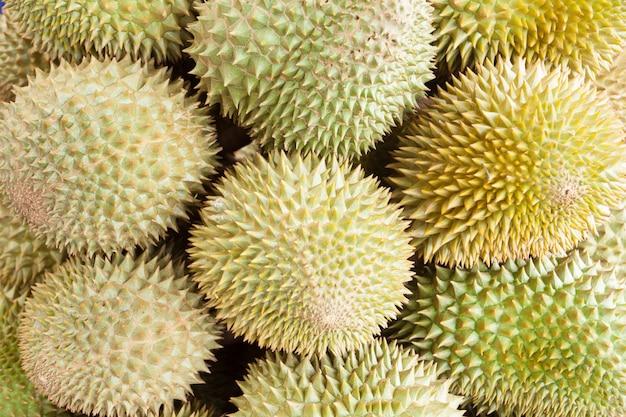 König der früchte, durian.