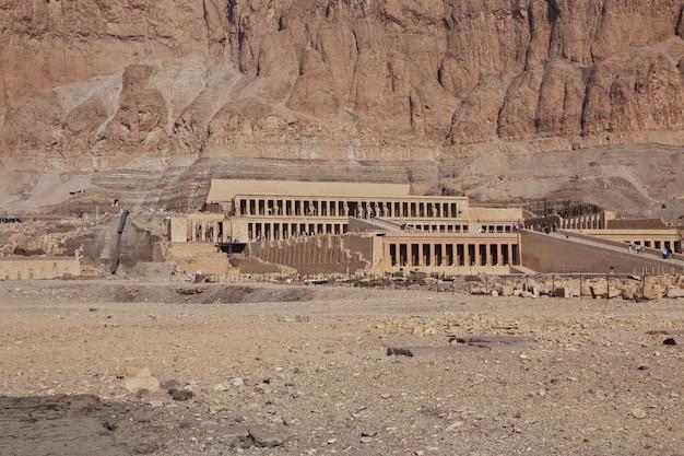 Königin hatshepsut-tempel in luxor, ägypten