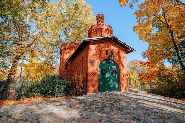 Königlicher wilanow-park in warschau, polen