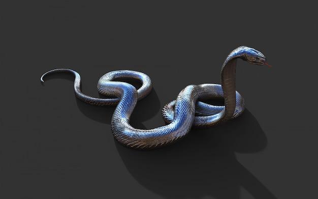 Königskobra die längste giftige schlange der welt