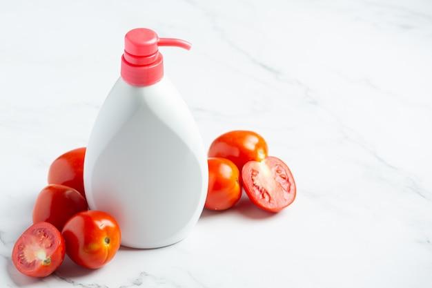 Körperpflege für tomatenlotion