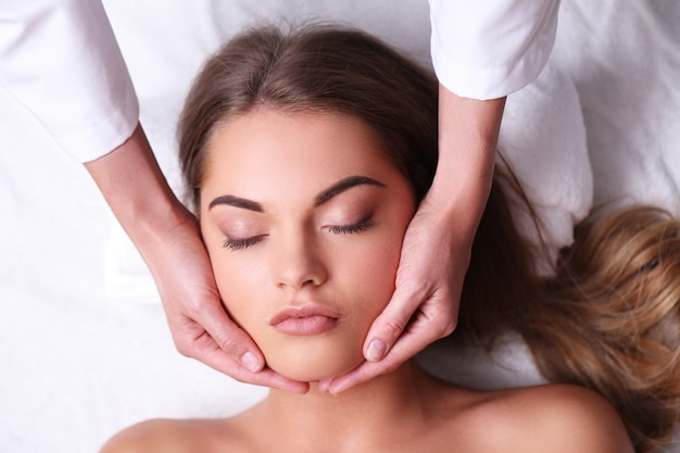 Körperpflege im spa
