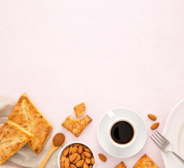 Köstliche bio-kekse kopieren platz