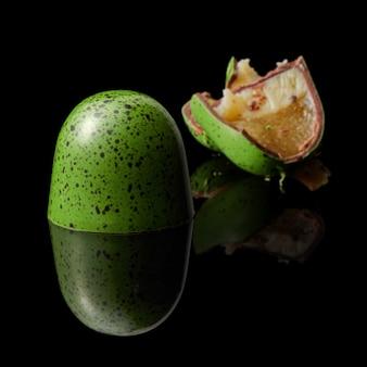 Köstliche grüne praline