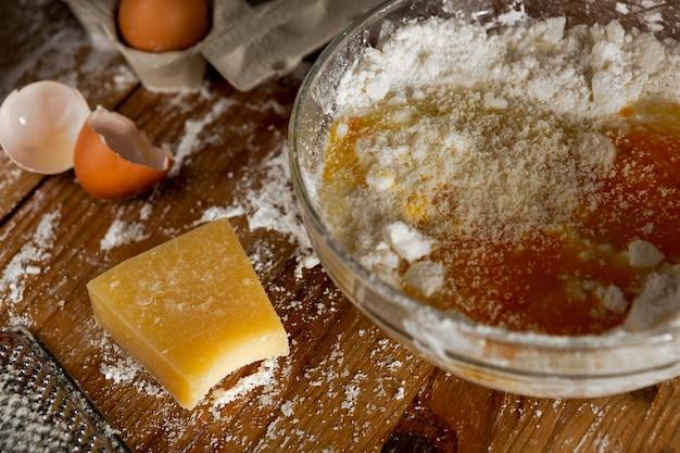 Köstliche käsebrotzusammensetzung